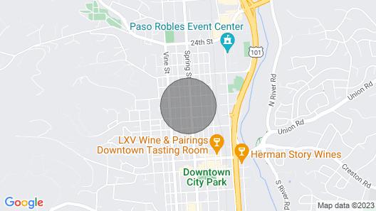 The Lofts at Paso Market Walk - The Oak Room Map