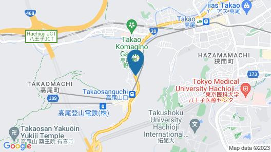 Mt.Takao Base Camp - Hostel Map