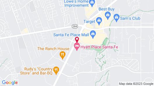 La Quinta Inn by Wyndham Santa Fe Map