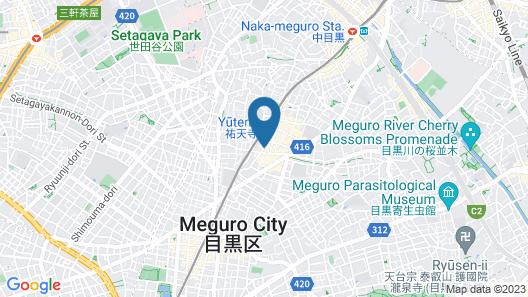 Tokyu Stay Meguro-Yutenji Map