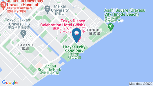 Tokyo Disney Celebration Hotel Map