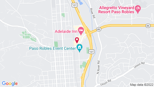 Holiday Inn Express & Suites Paso Robles, an IHG Hotel Map