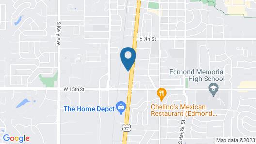 Red Carpet Motel Map