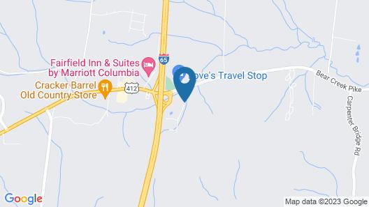 Sleep Inn & Suites Map