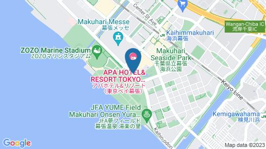 Apa Hotel And Resort Tokyo Bay Makuhari Map