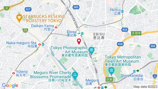 Ebisuholic Hotel Map