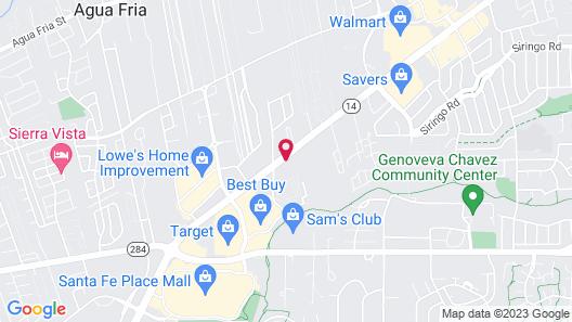 Best Western Plus Inn of Santa Fe Map