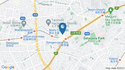 Condominium Shibuya Goten Map