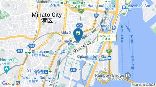 Pullman Tokyo Tamachi Map