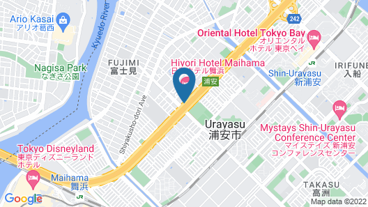Hiyori Hotel Maihama Map