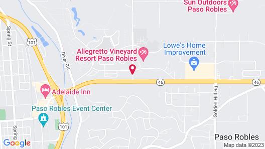 La Quinta Inn & Suites by Wyndham Paso Robles Map
