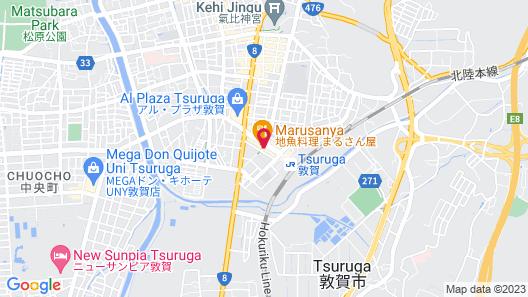 Toyoko Inn Tsuruga Ekimae Map