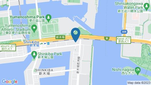 Family Lodge Hatagoya Tokyo Shinkiba Map