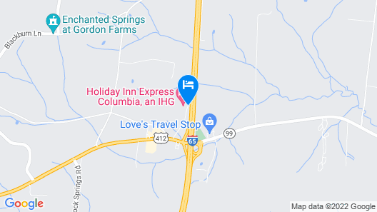 Holiday Inn Express Columbia, an IHG Hotel Map
