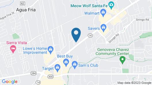 Fairfield Inn & Suites by Marriott Santa Fe Map