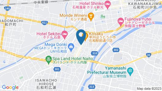 Yamanashi Kubonakajima Grand Cheine GR4 Map