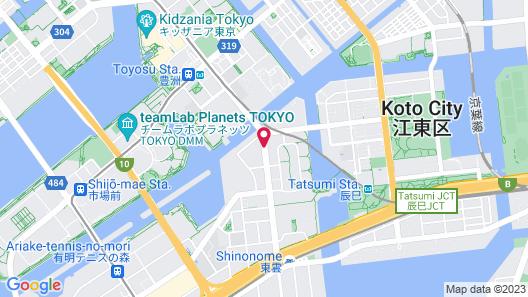 hotel MONday TOYOSU Map