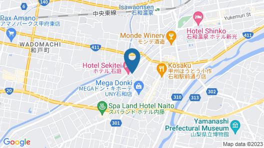 Hotel Sekitei Map