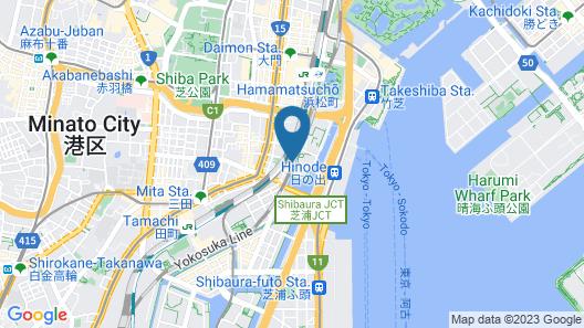 Chisun Hotel Hamamatsucho Map