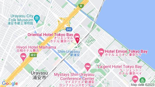 Oriental Hotel Tokyo Bay Map