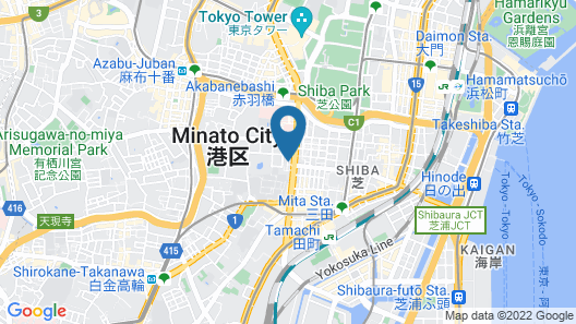 Mita Guest House Map