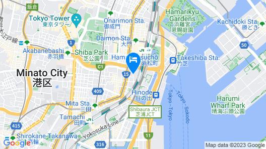 Hotel Villa Fontaine Tokyo-Hamamatsucho Map