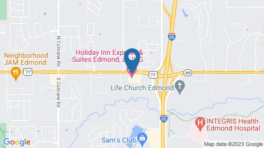 Holiday Inn Express Hotel & Suites Edmond, an IHG Hotel Map