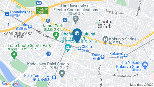 Chofu Creston Hotel Map