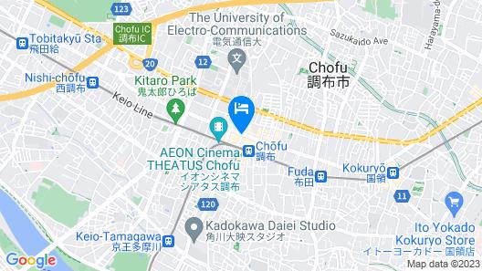 Chofu Creston Hotel Map
