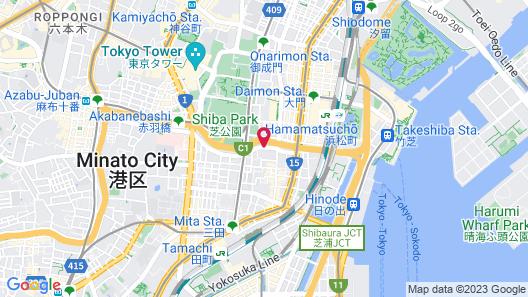Tokyo Grand Hotel Map