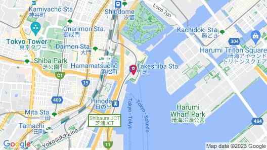 InterContinental Tokyo Bay, an IHG Hotel Map