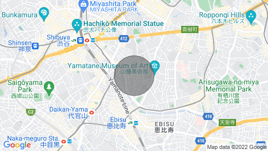 Famous Shibuya Crossing 8 Minutes Walk , New Build Room Open ! Map