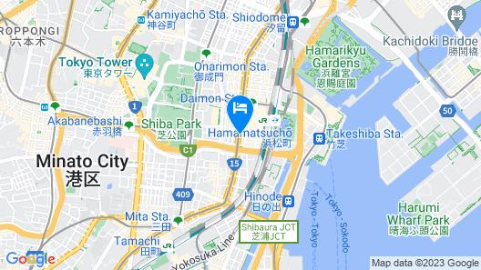 Sanco Inn Grande Tokyo Hamamatsucho Map