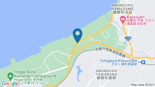 Hanarenoyado Waraku Map