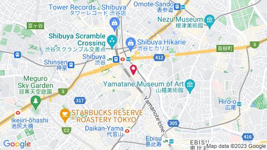 JR-EAST HOTEL METS SHIBUYA Map