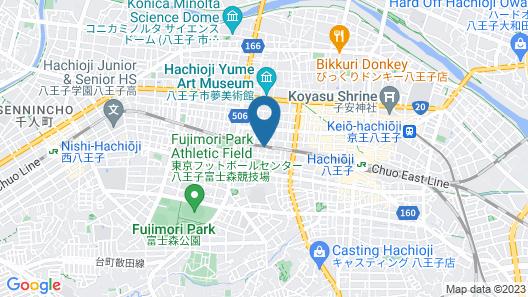 APA Hotel Hachiojieki-Nishi Map