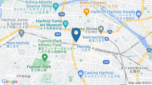 APA Hotel Hachioji-Eki Kita Map