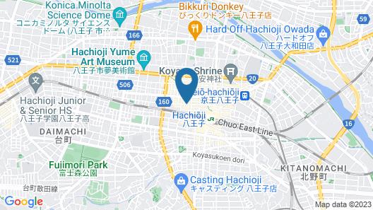 Marroad Inn Hachioji Map