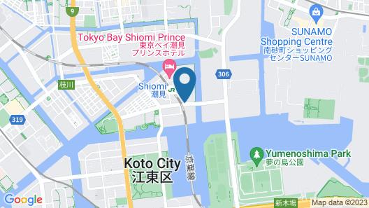 APA Hotel Tokyo-Shiomi-Ekimae Map