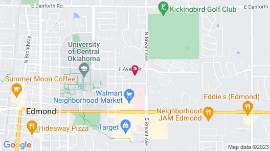 OYO Hotel Edmond - University of Central Oklahoma Map