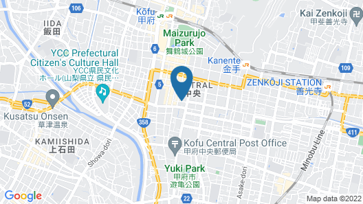 HOTEL FREE STYLE Map