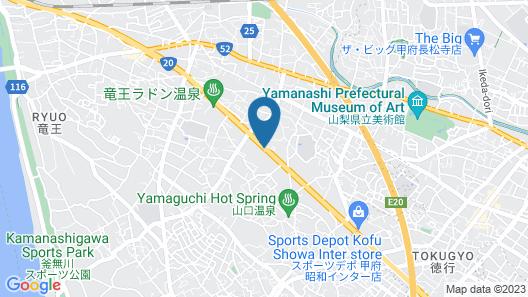 Hotel LiVEMAX Kofu Map
