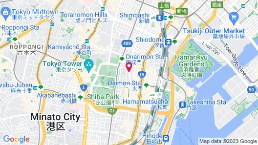 Shiba Park Hotel Map