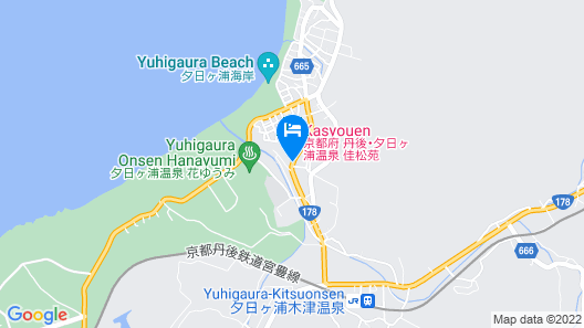 Kasyouen Hotel Map