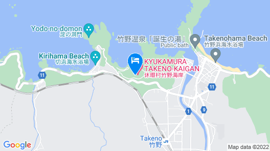 Kyukamura Takeno-Kaigan Map
