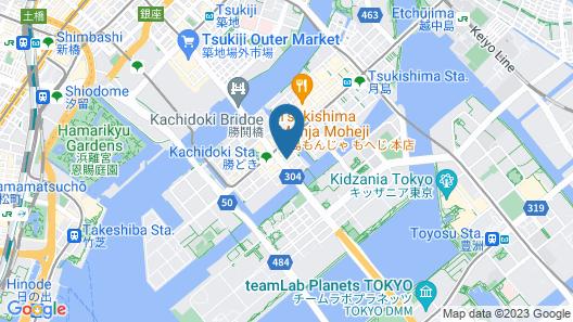 Tokyo BUC Nakagin Map