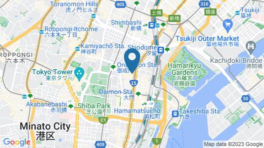 Sotetsu Fresa Inn Hamamatsucho Daimon Map