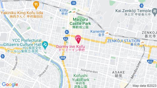 Dormy Inn Kofu Natural Hot Spring Map