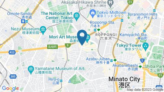 Grand Hyatt Tokyo Map