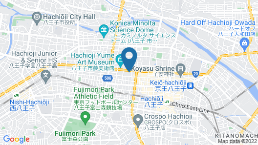 HACHIOJI SKY HOTEL Map